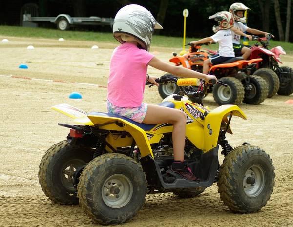 quad yamaha enfant